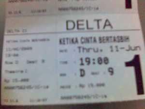 tiket KCB