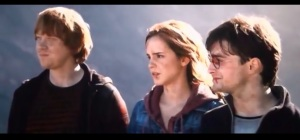 trio Harry - Ron - Hermione