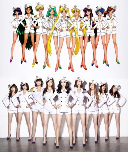 SNSD-Sailormoon