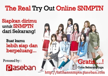 Try Out SNMPTN Online Paseban
