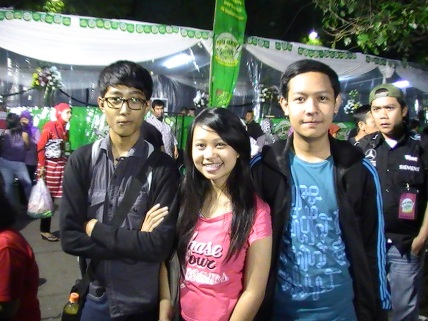 faisal, april dan hadi