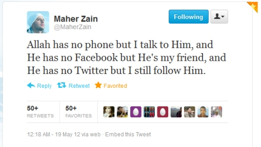 Quote from Maher Zain