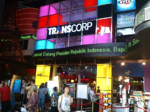 Penyambutan Pak SBY by TSB