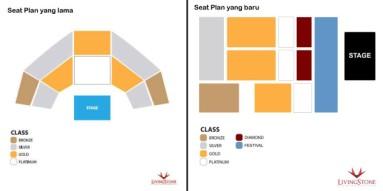 Perbandingan Seat Plan Lama dan Baru