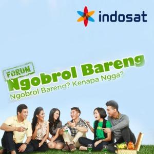 Forum Ngobrol Bareng Indosat
