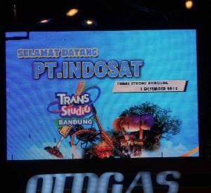 Indosat dan Trans Studio Bandung